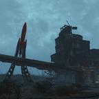 Red Rocket Tankstelle